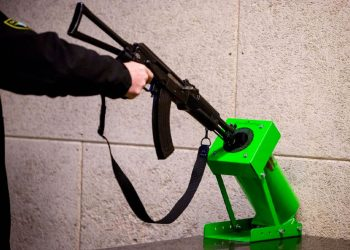 Gun Clearing Device Green Bullet Trap