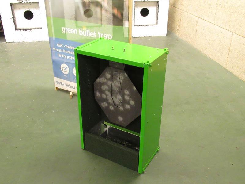 IPSC Gong Green Bullet Trap