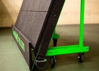 Wheeled Bullet Trap Green Bullet Trap