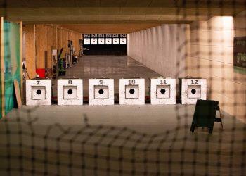 Shooting Ranges Green Bullet Trap