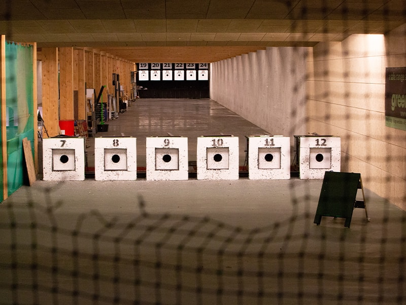 Shooting ranges Green Bullet Trap