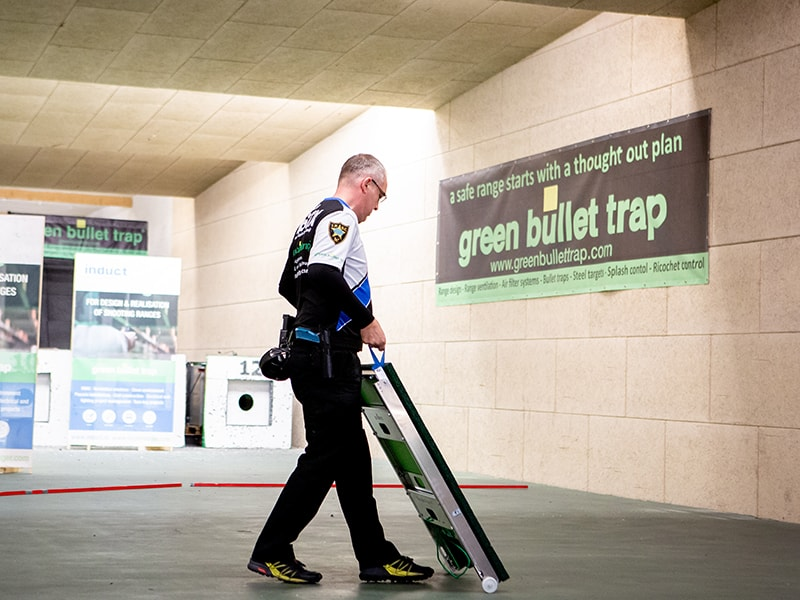 Modular Bullet Trap Green Bullet Trap